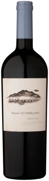 Mount Sutherland Pinot Noir