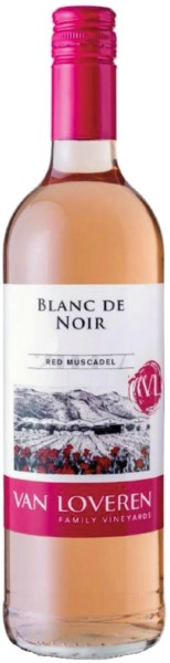 Van Loveren Blanc De Noir Red Muscadel Blush
