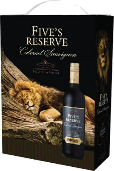 Van Loveren Fives Reserve Cabernet Sauvignon Bag in Box 3 Liter