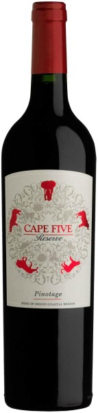 Stellenview Cape Five Reserve Pinotage