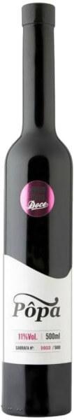 Quinta do Pôpa Vinho Doce Tinto 0.5 Liter - beschädigtes Etikett