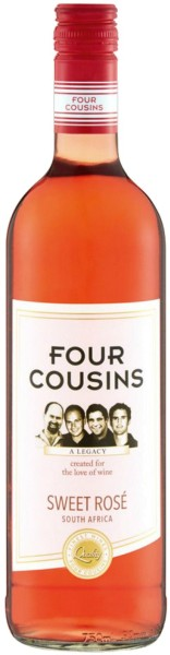 Van Loveren Four Cousins Natural Sweet Rosé