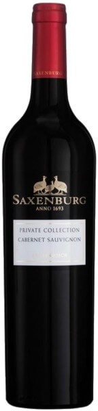 Saxenburg Private Collection Cabernet Sauvignon 2015