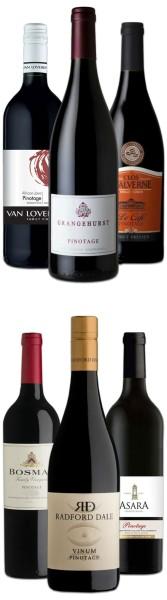 Die Welt des Pinotage Probierpaket